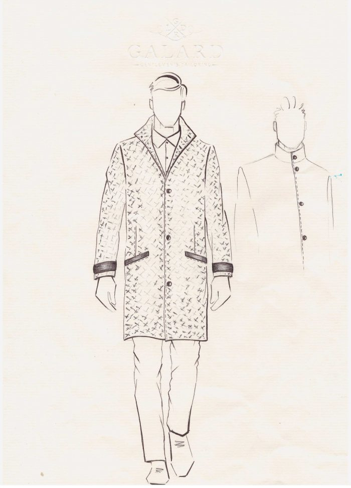 Galard Kabát Skica